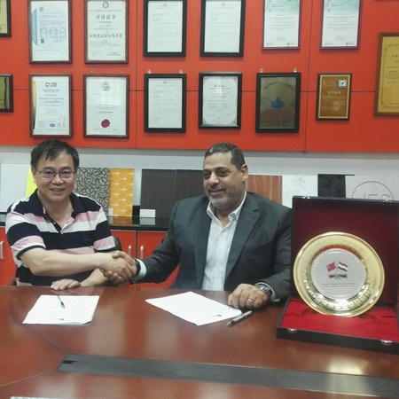 Sifon Signed Area Sole Agency Agreement with ELSHOBAKY COMPANY FOR IMPORTING